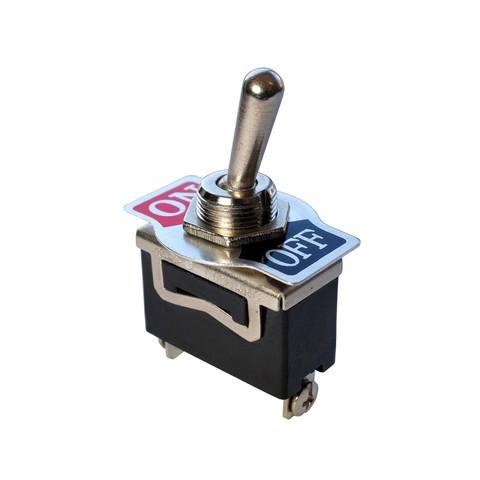 Automatisch zurückspringender Metall Kippschalter? (Computer, Strom ...