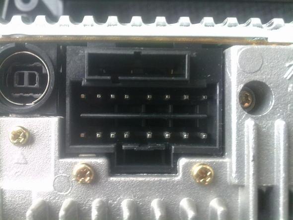 Anschluss vom Sony Radio  - (Elektrik, Autoradio)