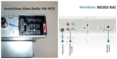 Beide Radios - (Auto, Kabel, VW)
