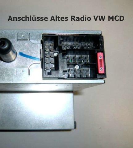 Altes VW T5 Radio - (Auto, Kabel, VW)