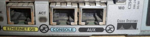 CISCO-Anschluss - (Router, Anschluss, aux)