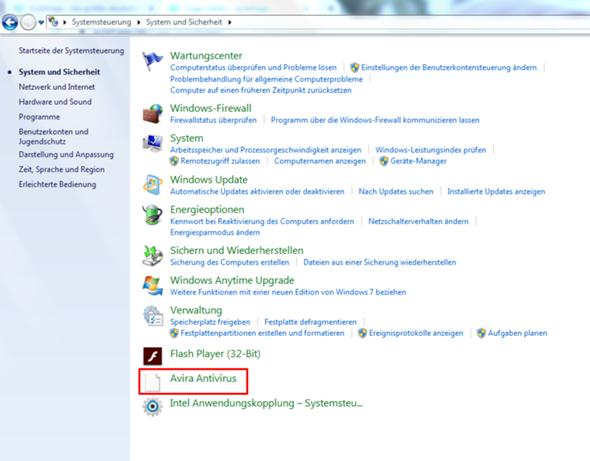 Avira software updater deinstallieren