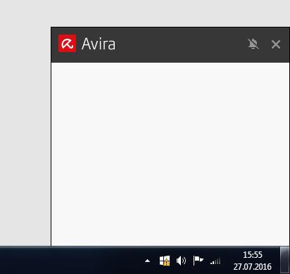 Avira Werbefenster - (Avira)