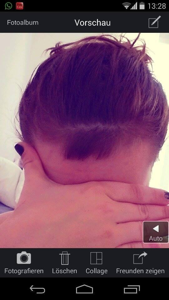 Haare wachsen nach