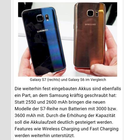 - (Samsung, galaxy, S6)