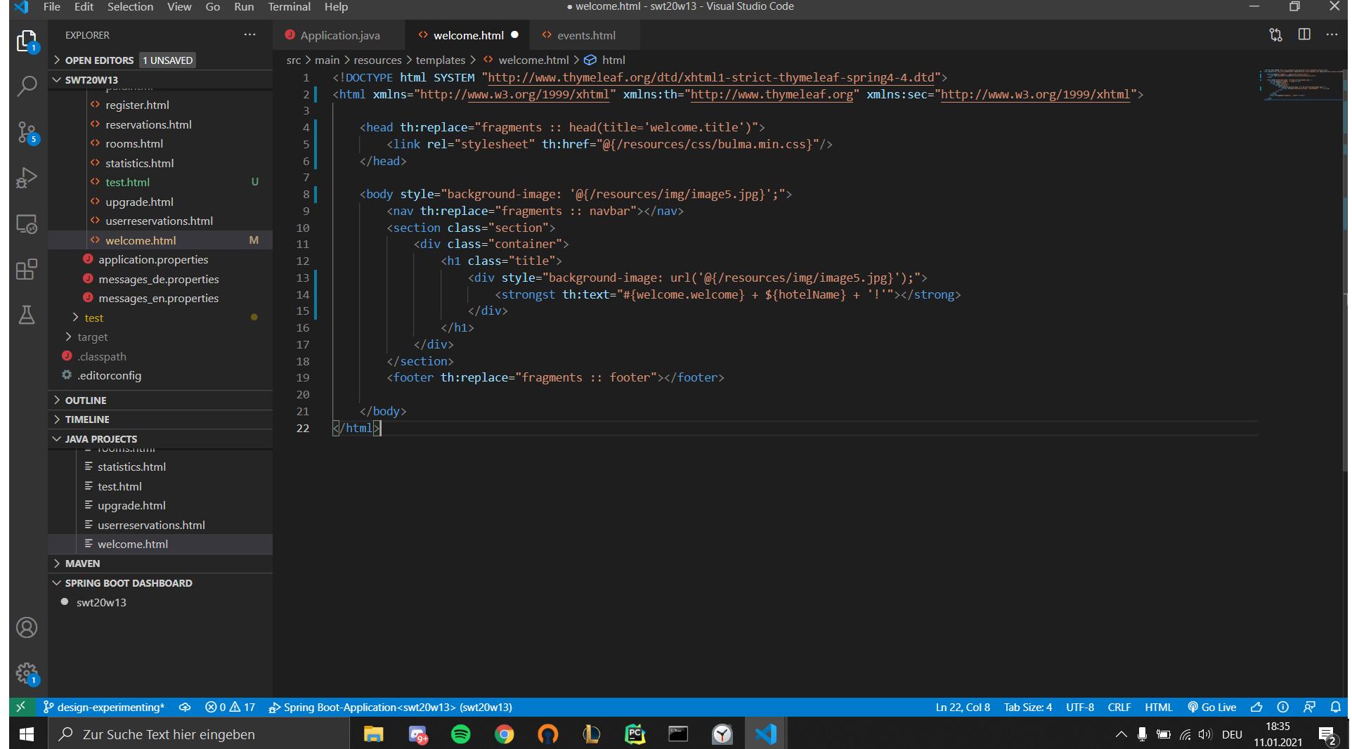 Background Image in HTML und CSS Computer, Technik, Programmieren