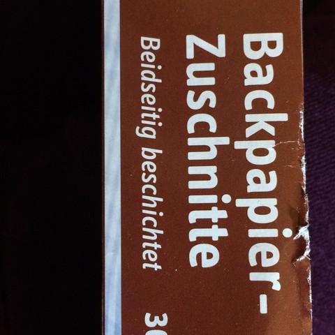 Backen - (Kochen, backen)