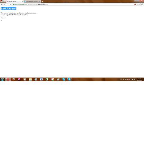 Fehlermeldung - (Fehler, Browser, Webseite)