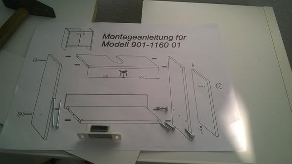 Badezimmer Waschbeckenunterschrank Aufbauen Roller Montage