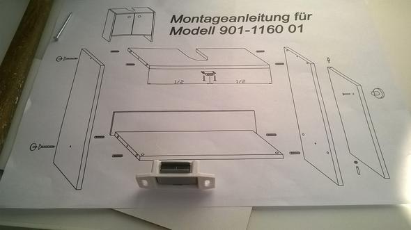 Badezimmer / waschbeckenunterschrank aufbauen? (Roller, Montage ...