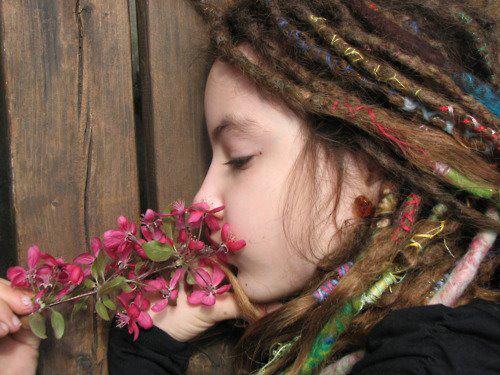 Bänder In Dreads Flechten Haare Band Rot