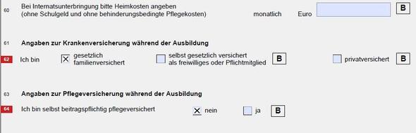 Bafög Antrag Belege Ausbildung Bürokratie Beleg