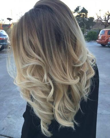Balayage Beim Friseur Für 150 Haare