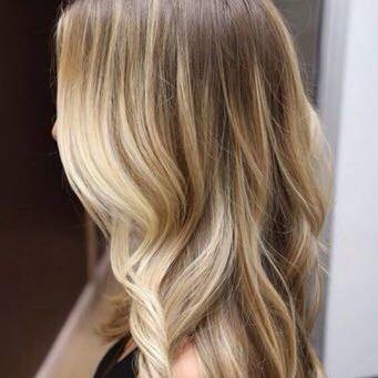 balayage blond haarfarbe welche produkte haare fà rben frisà r