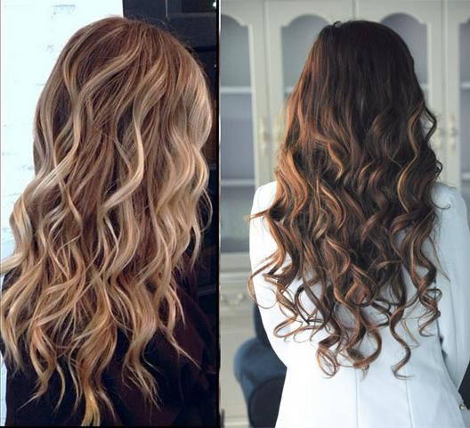 balayage ombre dunkel auf blond haare frisur f rben. Black Bedroom Furniture Sets. Home Design Ideas
