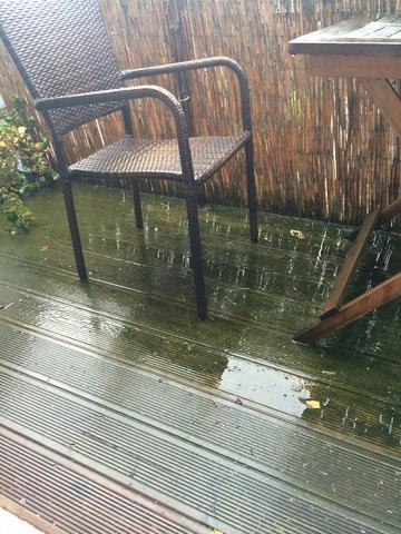 Balkonentwasserung Holzboden Mietrecht Vermieter Regen