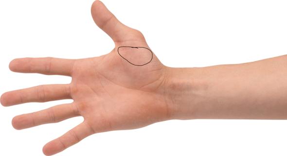 Stelle - (Hand, Finger)