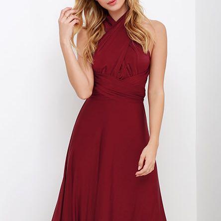 Oder in Rot? - (Farbe, Abschluss, Kleid)