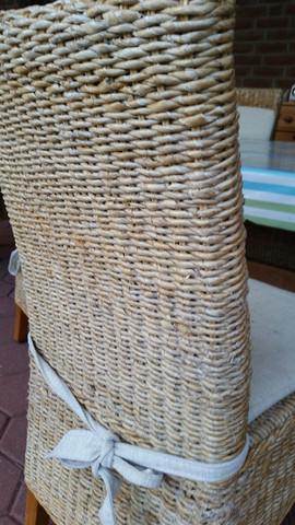 Bananenblatt Geflecht Stuhl  - (Stuhl, Restaurieren)