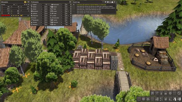 volles Warenlager - (Computerspiele, Simulation, aufbauspiel)