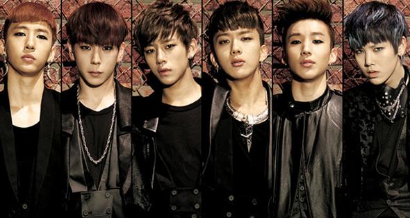 von links: Yongguk, Himchan, Daehyun, Youngjae, Jongup, Zelo - (Konzert, Ticket, K-Pop)