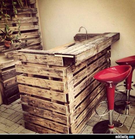 Bar Aus Paletten Selber Bauen Holz Selber Machen Palette
