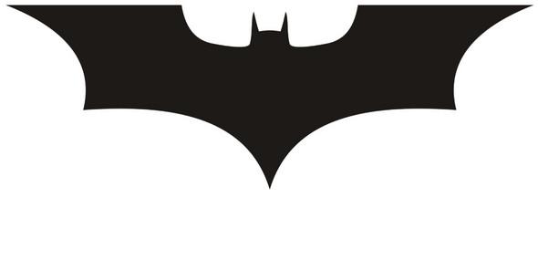 Batman logo schablone?