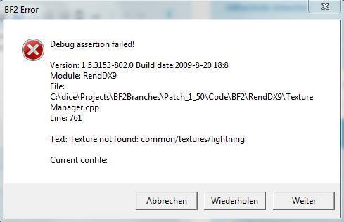 <= Nach Patch 1.5 - (Fehlermeldung, Patch, Battlefield 2)