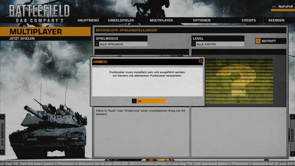 Die meldung  - (PC-Games, punkbuster, BBC2)