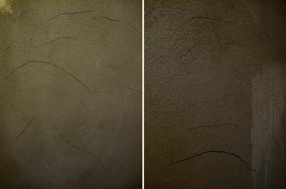 Sehr BAU: Sind Risse in der Wand nach frisch verputzen akzeptabel, wenn WZ23