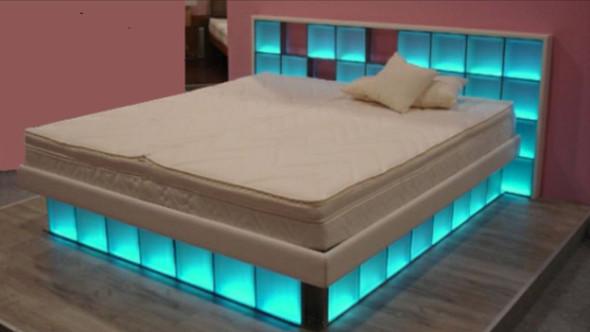 Bett  - (Bett, Bauanleitung)