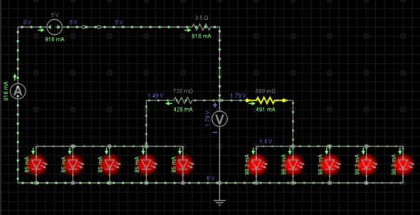Schaltung - (Wii, Elektrotechnik, LED)