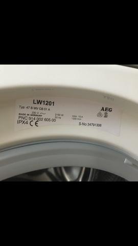 Baujahr Waschmaschine AEG Lavamat  W1201?
