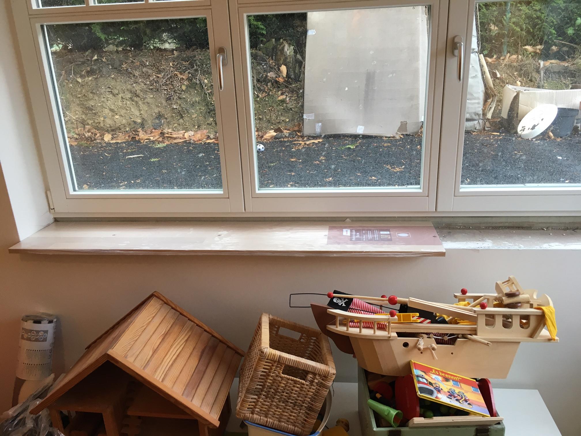 Bauschaum für provisorische Fensterbank? (Fenster, Material)