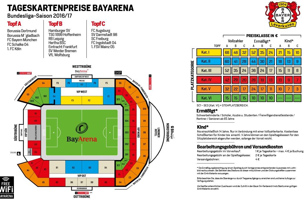 Ticket Bayer Leverkusen