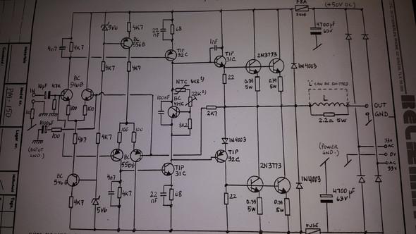 Schema - (Elektronik, Verstärker, Transistor)