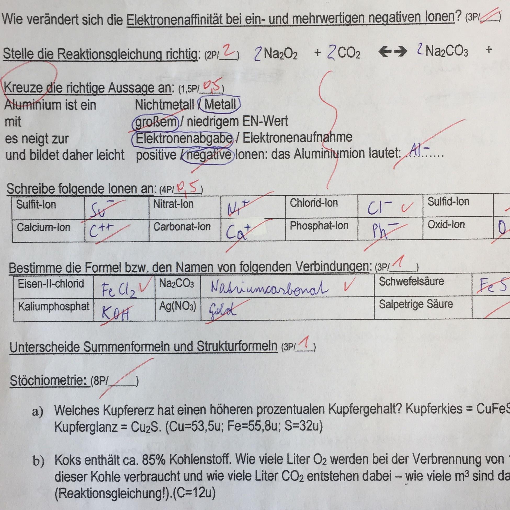 Atemberaubend Periodensystem Arbeitsblatt Antworten Bilder - Super ...