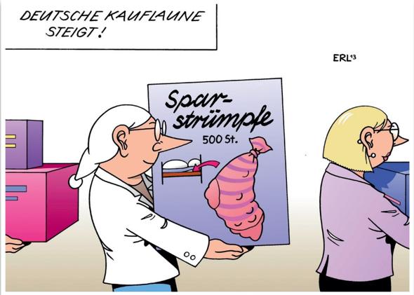 Bedeutung dieser Karikatur?