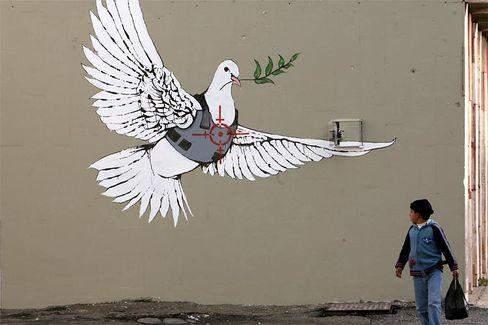 Bedeutung Graffiti Banksy?