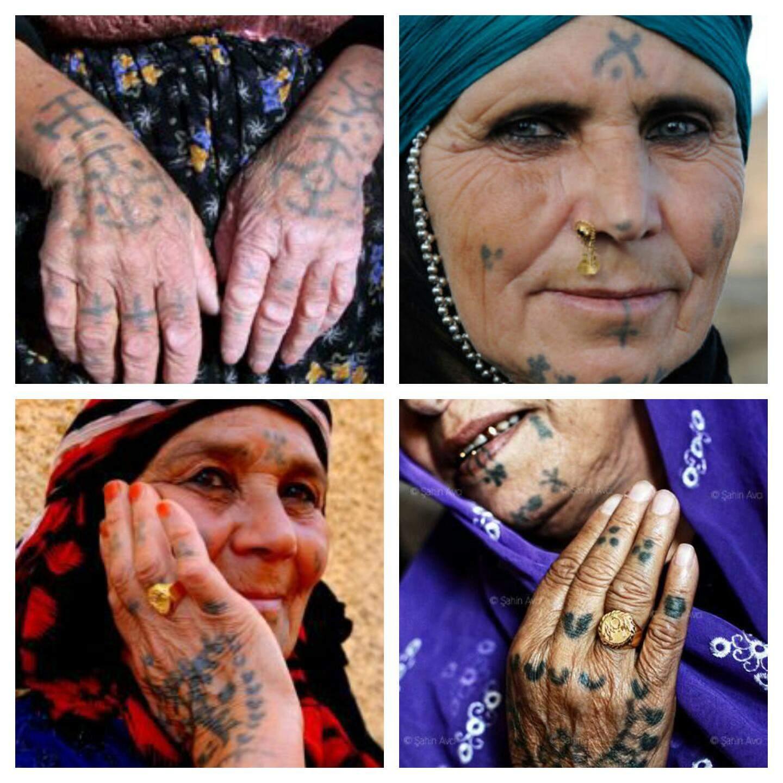 Tattoos mit alte frauen Die 30