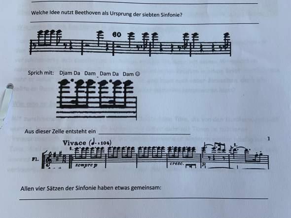 Beethoven, wer kann uns hier helfen?