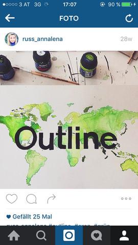 Outline Beispiel - (Kunst, zeichnen)