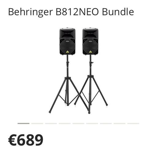 Behringer B812NEO Bundle - (Meinung, Behringer, bundle)