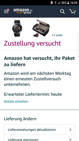 Amazon Lieferung Nicht Erhalten