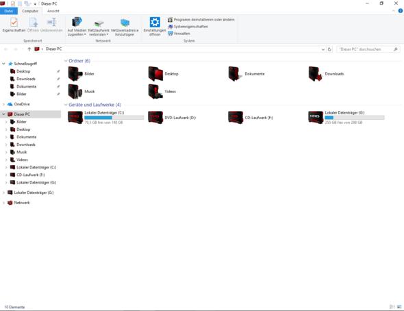 Hier: Warum F: ? - (Windows 10, CD, Laufwerk)