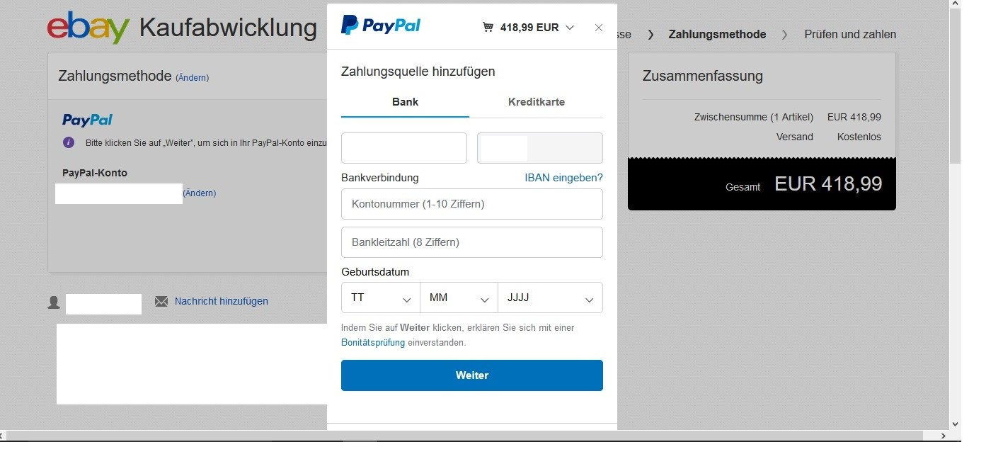 Paypal Kann Zahlung Nicht AbschlieГџen