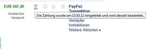 :( - (Ebay, PayPal)