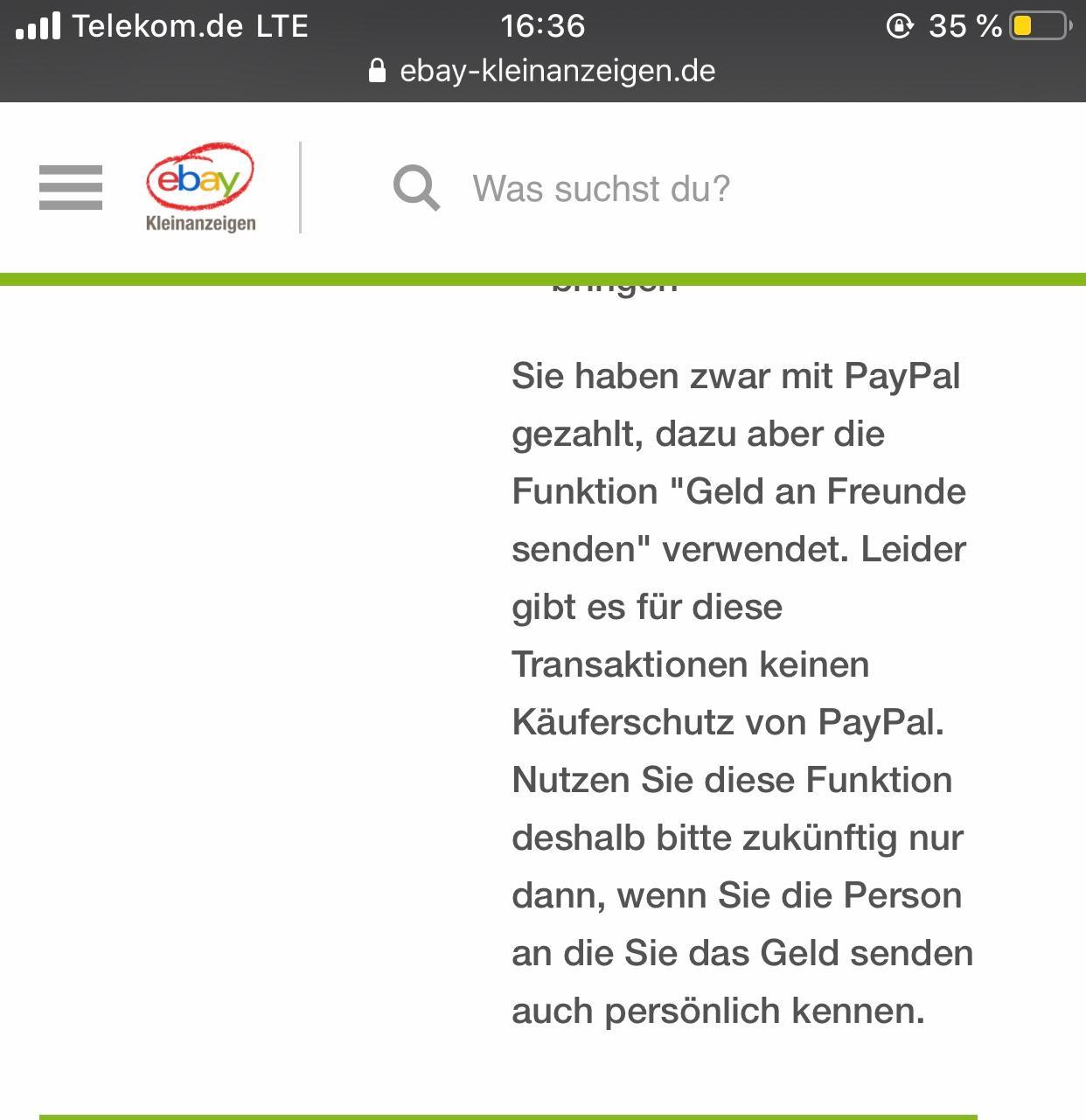 Wie Funktioniert Paypal Bei Ebay Kleinanzeigen
