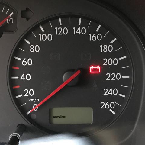 Service-Anzeige - (VW, Golf IV, Service-Anzeige)