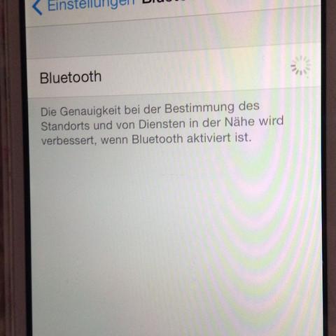 Da lädt es andauernd  - (Apple, WLAN, Bluetooth)